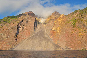 Volcano in Komba, Indonesia, Sea of Flores  -  Pascal Kobeh