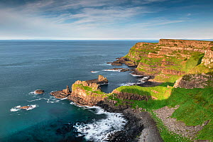 Port na Tober and Horse Shoe Harbour, Giant's Causeway, Northern Ireland.  -  Robert  Thompson