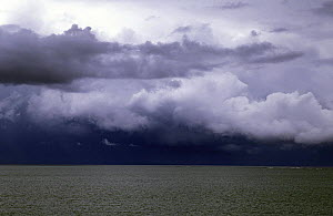 Stormy Clouds over tropical seas.  -  Onne van der Wal
