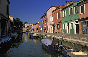 Burano, an archipelago of islands in the Venetian lagoon, Venice province, Italy, ^^^especially famous for its glass making but also for the picturesque and colourful houses.  -  Roberto Rinaldi