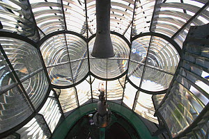 Inside the kerosene fueled Elbow Cay lighthouse in the Abacos Islands, Bahamas - Onne van der Wal