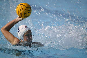 Italy versus USA during a Water Polo match at the Olympic Games Athens, Greece, 24 August 2004.  Editorial Use Only.  -  Barry Bland