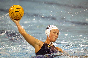 Women's water polo, Australia v Greece, Olympic Games 2004, Athens, Greece. 19th August 2004.  Editorial Use Only.  -  Barry Bland