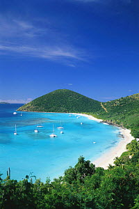 White Bay on Jost Van Dyke Island (JV Dyke), also known as Barefoot Island, British Virgin Islands (BVI). - Roberto Rinaldi