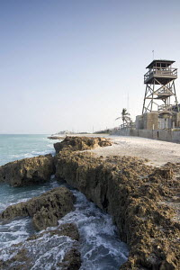 A lookout tower on the Florida coast at Vero Beach, Indian River County, USA 2003. - Gary John Norman