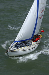 Farr 65 in the Solent, UK, May 7 2005.  -  Rick Tomlinson