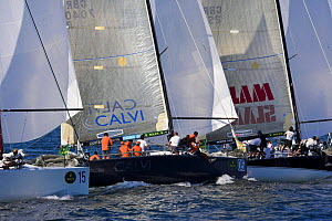 Racing at the Farr 40 one-design class World Championship.  -  Onne van der Wal