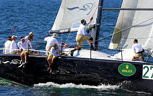 During a race at the Farr 40 one-design class World Championship.  -  Onne van der Wal