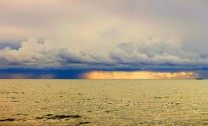 Winter storm forming off the south east coast of Sicily (Ragusa).  -  Angelo Giampiccolo