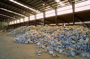 Plastic recycling plant Elche, Spain  -  Jose B. Ruiz