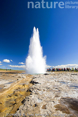 Nice Watching the geyser