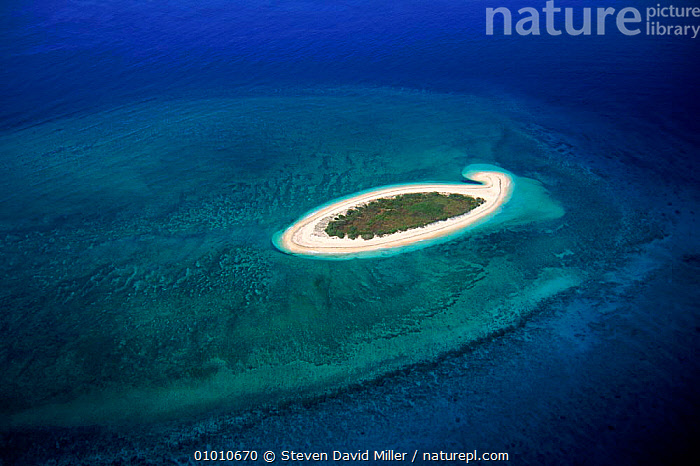 Coral Cay aerial shot, Capricorn bunker group. Great Barrier Reef, Queensland Australia  ,  AERIAL,BARRIER,BLUE,BUNKER,CAPRICORN,CAY,CORAL,CORAL REEFS,GREAT,ISLAND,MARINE,REEF,SDM,SEA,TROPICAL,VULNERABLE ,AERIALS,AUSTRALIA  ,  Steven David Miller