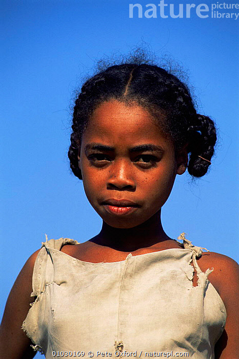 Antandroy girl, Southern Madagascar, AFRICA,CHILDREN,FEMALES,MADAGASCAR,PEOPLE,PORTRAITS,VERTICAL, Pete Oxford