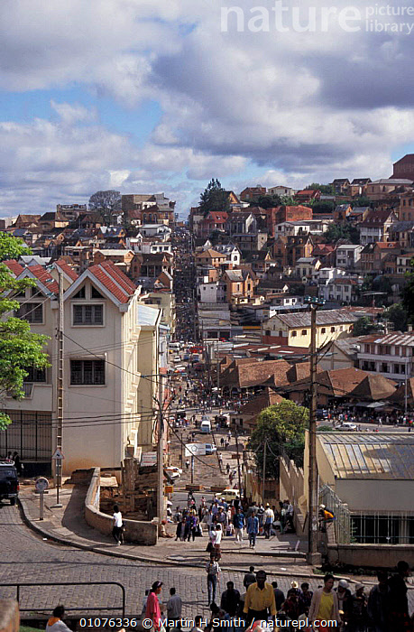 Antananarivo, Madagascar  ,  CITIES,LANDSCAPES,PEOPLE,BUILDINGS,MADAGASCAR  ,  Martin H Smith