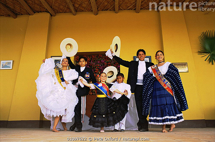 National dance champions in traditional dress, Trujillo, Peru, South America, CHILDREN,CLOTHING,CULTURES,DANCING,FEMALES,LEISURE,MALES,PEOPLE,SOUTH AMERICA,SPORT,TRADITIONAL,SOUTH-AMERICA, Pete Oxford