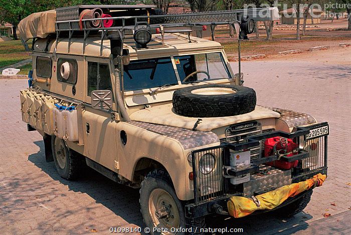 Private Land Rover kitted out for ecotourism, Namibia, Southern Africa  ,  AFRICA,HORIZONTAL,JEEP,SAFARI,SOUTHERN AFRICA,TOURISM,VEHICLES  ,  Pete Oxford