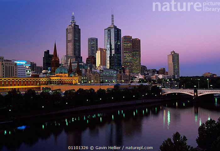 Melbourne City skyline at dusk from Southgate, Victoria, Australia  ,  BRIDGES,BUILDING,BUILDINGS,CITIES,CITY,CONSTRUCTION,D,DIG,DIGITAL,DUSK,GAVIN,GHE,HELLIER,HOMES,HORIZONTAL,LANDSCAPES,LIGHTS,MELBOURNE,PEOPLE,POPULATION,RIVER,RIVERS,ROADS,SCENICS,SETTLEMENT,SKYLINE,SOUTHGATE,TRAFFIC,TRAVEL,WATER,AUSTRALIA  ,  Gavin Hellier