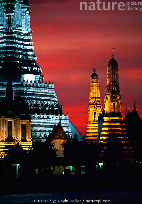 Wat Arun Temple of Dawn, illuminated at night Bangkok, Thailand, South East Asia  ,  ARCHITECTURE,ASIA,BANGKOK,BEAUTIFUL,BUDDHIST,BUILDINGS,CITIES,CITY,CULTURES,DAWN,EAST,FLOODLIT,GHE,ILLUMINATED,LANDSCAPES,LIGHTS,NIGHT,RELIGION,SCENICS,SOUTH,SOUTH EAST ASIA,TEMPLE,TEMPLES,TRAVEL,VERTICAL,SOUTH-EAST-ASIA  ,  Gavin Hellier