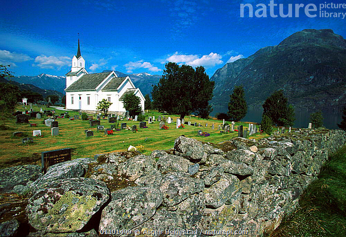 Church in mountains, Oppstryn, Stryn, Sognefjorden, Norway  ,  AHE,BUILDING,BUILDINGS,CHURCH,LANDSCAPE,LANDSCAPES,MOUNTAINS,NATIONAL PARK,NP,SCANDINAVIA,SCENIC,SCENICS,TRAVEL ,CHURCHES,Europe, Scandinavia  ,  Asgeir Helgestad