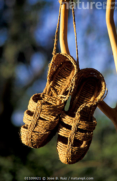 Espardenas, traditional rope shoes made from vegetable fibres, Spain, LANDSCAPES,CLOTHING,Europe, Jose B. Ruiz