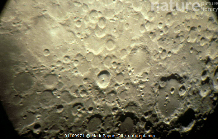 Close-up of Tycho crater, Highland region of the Moon, SURFACE,CRATERS,SKIES, Mark Payne-Gill