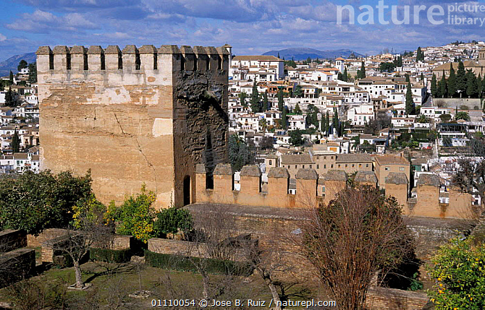 Palacio de la Madraza, Alhambra, Granada, Andalucia, Spain, BUILDINGS,LANDSCAPES,CITIES,Europe, Jose B. Ruiz