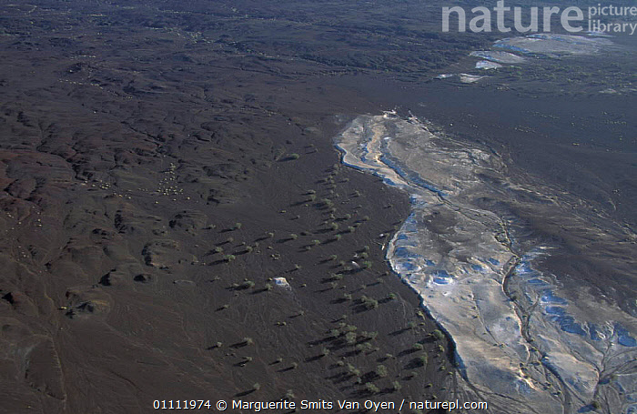 Aerial view of Djibouti with crystalline salt deposits. Sea water seeps through and evaporates. East Africa  ,  HORIZONTAL,MINERALS,LANDSCAPES,DESERTS,DEPOSITS, ,AERIAL ,AERIALS,EAST-AFRICA,Africa  ,  Marguerite Smits Van Oyen