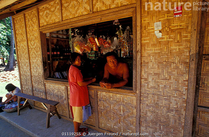 Typical small Filipino retail store, Handumon, Bohol Is, Philippines  ,  PEOPLE,ASIA,TRADITIONAL,BUILDINGS,LANDSCAPES,TRADE,SHOPS,SOUTH-EAST-ASIA  ,  Jurgen Freund