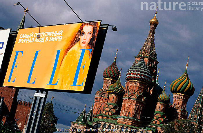 Moscow, Russia  ,  BUILDINGS,EUROPE,LANDSCAPES,POSTER,CIS  ,  Staffan Widstrand