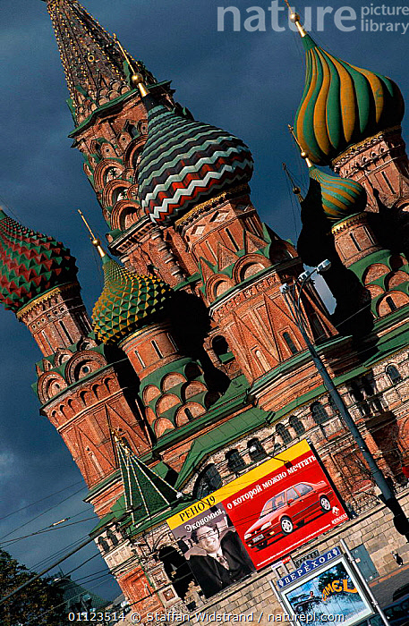 Moscow, Russia  ,  BUILDINGS,EUROPE,LANDSCAPES,POSTER,VERTICAL,CIS  ,  Staffan Widstrand