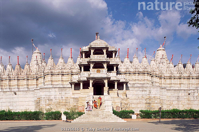 Adinath Temple, Ranakpur, Rajasthan, India  ,  ASIA,BUILDINGS,PEOPLE,HINDUISM,HINDU,LANDSCAPES,INDIAN-SUBCONTINENT,INDIA  ,  Toby Sinclair