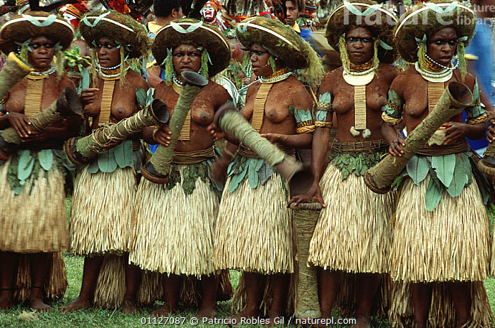 Women of the Sili Muli tribe, Papua New Guinea  ,  ASIA,CEREMONIES,CULTURES,DANCING,DANES,FEMALES,FESTIVALS,GROUPS,PAPUA NEW GUINEA,PEOPLE,SOUTH EAST ASIA,TRADITIONAL,TRIBES,WEST-AFRICA  ,  Patricio Robles Gil