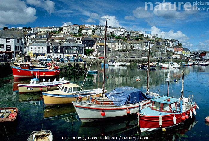 Megavissey harbour, Cornwall, UK.  ,  BOATS,COASTS,EUROPE,LANDCAPES,HARBOURS,LANDSCAPES,UK,VILLAGES,United Kingdom,British,ENGLAND,GettyBOV  ,  Ross Hoddinott