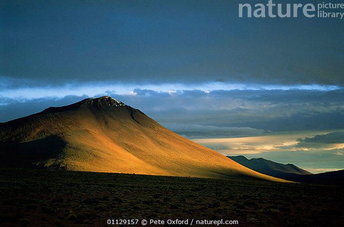 Andes scenic, Bolivia  ,  MOUNTAINS,LANDSCAPES,SOUTH-AMERICA  ,  Pete Oxford
