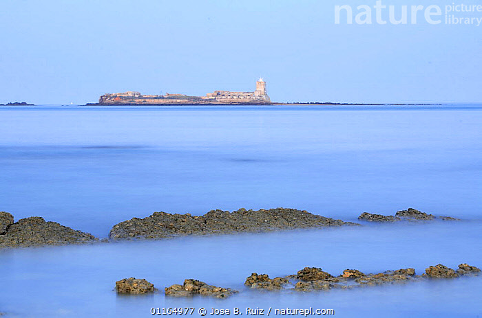 Sancti petri island, Chiclana, Cadiz, Spain, ATLANTIC,COASTS,EUROPE,LANDSCAPES,LONG EXPOSURE,SEA, Jose B. Ruiz