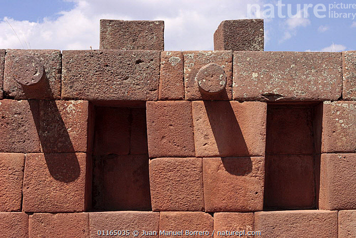 Detail of stone construction, Archaeological Park of Pisac, Sacred Valley, Peru 2006., ANDES,BUILDINGS,PERU,SOUTH AMERICA,SOUTH-AMERICA, Juan Manuel Borrero