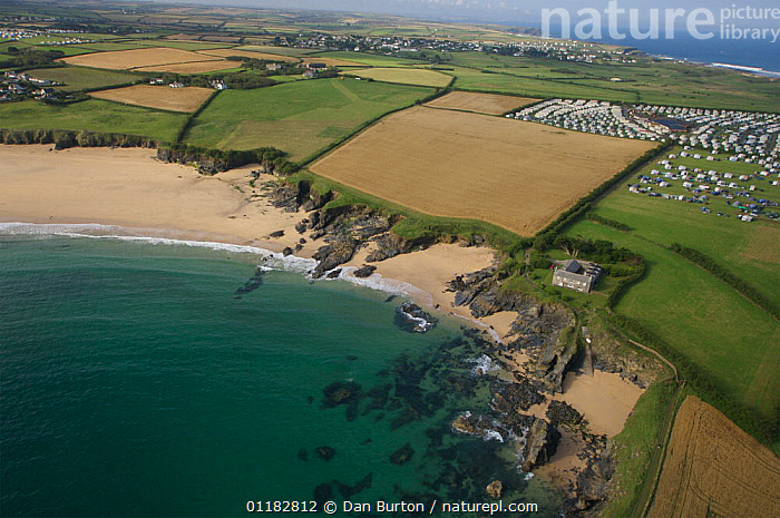 Mother Ive's Bay, Cornwall, UK  ,  AERIALS,BEACHES,CAMPING,CAMPSITE,CARAVANS,COASTS,EUROPE,FIELDS,LANDSCAPES,UK,United Kingdom,British,ENGLAND, United Kingdom, United Kingdom  ,  Dan Burton