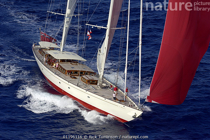 """Aerial view of SY """"Adele"""", 180 foot Hoek Design, underway off Bora Bora Island, French Polynesia Non editorial uses must be cleared individually.  ,  AERIALS,BOATS,FRONT VIEWS,KETCHES,PACIFIC ISLANDS,SAILING BOATS,SPINNAKERS,SUPERYACHTS,YACHTS,FRENCH POLYNESIA, SAILING-BOATS ,SAILS , SAILING-BOATS , SAILING-BOATS , SAILING-BOATS , SAILING-BOATS , SAILING-BOATS  ,  Rick Tomlinson"""