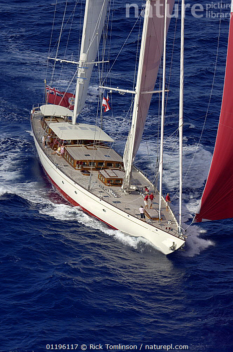 """Aerial view of SY """"Adele"""", 180 foot Hoek Design, underway off Bora Bora Island, French Polynesia Non editorial uses must be cleared individually.  ,  AERIALS,BOATS,FRONT VIEWS,KETCHES,PACIFIC ISLANDS,SAILING BOATS,SPINNAKERS,SUPERYACHTS,VERTICAL,YACHTS,FRENCH POLYNESIA, SAILING-BOATS ,SAILS , SAILING-BOATS , SAILING-BOATS , SAILING-BOATS , SAILING-BOATS , SAILING-BOATS  ,  Rick Tomlinson"""