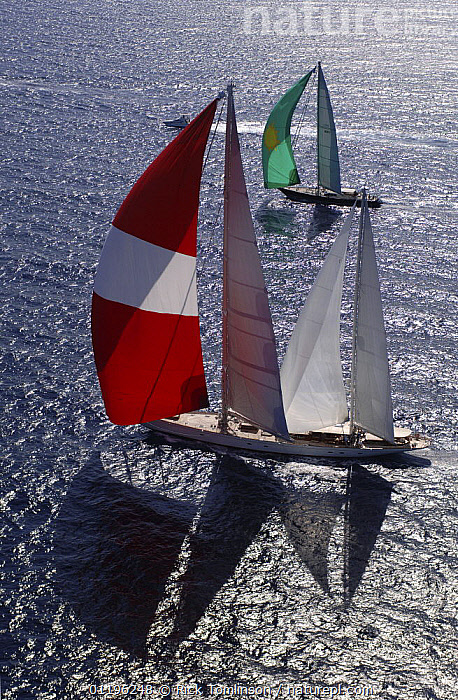 """SY """"Adele"""" (front), 180 foot Hoek Design, at the Superyacht Cup Palma, October 2005 Non editorial uses must be cleared individually.  ,  AERIALS,Balearic Islands,BALEARIC ISLANDS,Bay of Palma,BOATS,EUROPE,KETCHES,mallorca,PROFILE,RACES,RACING,SAILING BOATS,SAILS,shadows,silvery,SPINNAKERS,SUPERYACHTS,VERTICAL,YACHTS, SAILING-BOATS , SAILING-BOATS , SAILING-BOATS , SAILING-BOATS , SAILING-BOATS , SAILING-BOATS  ,  Rick Tomlinson"""
