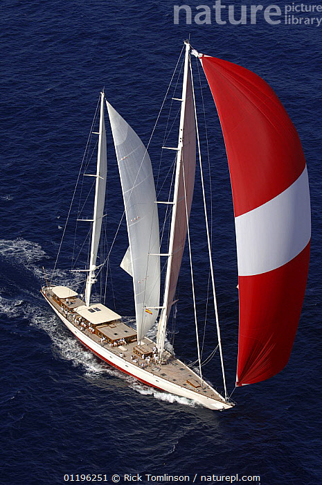 """SY """"Adele"""", 180 foot Hoek Design, at the Superyacht Cup Palma, October 2005 Non editorial uses must be cleared individually.  ,  AERIALS,Balearic Islands,BALEARIC ISLANDS,Bay of Palma,BOATS,EUROPE,KETCHES,mallorca,RACES,SAILING BOATS,SPINNAKERS,SUPERYACHTS,VERTICAL,YACHTS, SAILING-BOATS ,SAILS , SAILING-BOATS , SAILING-BOATS , SAILING-BOATS , SAILING-BOATS , SAILING-BOATS , SAILING-BOATS  ,  Rick Tomlinson"""