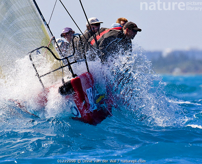 Miami Acura Grand Prix, Key West, Florida. 2009.  ,  BOATS,BOWS,BOW WAVE,CHOPPY,CLOSE UPS,COASTS,CREWS,Florida,FRONT VIEWS,HIKING OUT,OBSCURED,PRODUCTION YACHTS,RACES,SAILING BOATS,SPLASHES,SPRAY,USA,YACHTS,PROCEDURES,North America  ,  Onne van der Wal