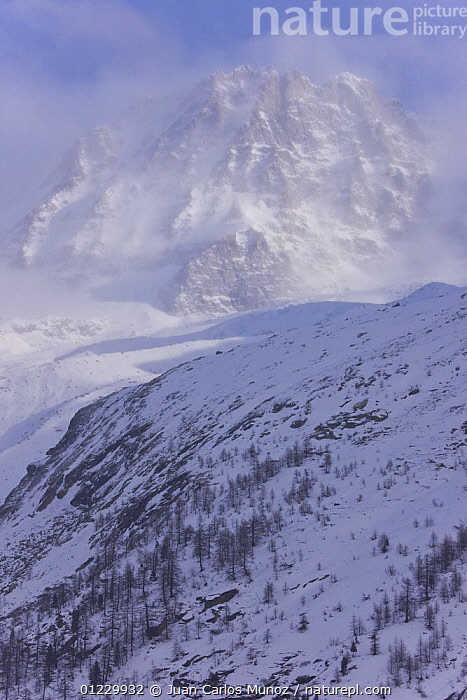 Mountain landscape with low cloud cover, Gran Paradiso NP, Valsavarenche, Aosta valley, Italian alps, ALPS,CLOUDS,EUROPE,ITALY,LANDSCAPES,MOUNTAINS,NP,RESERVE,SNOW,VERTICAL,Weather,National Park, Juan Carlos Munoz