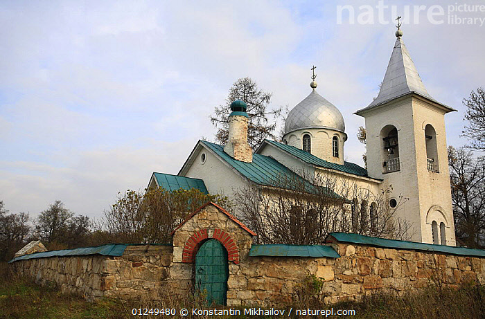 The church of St. Trinity, XIX century, in the village of Bekhovo, Moscow Oblast, Russia, October 2008  ,  BUILDINGS,CHURCHES,EUROPE,RUSSIA,TRADITIONAL  ,  Konstantin Mikhailov