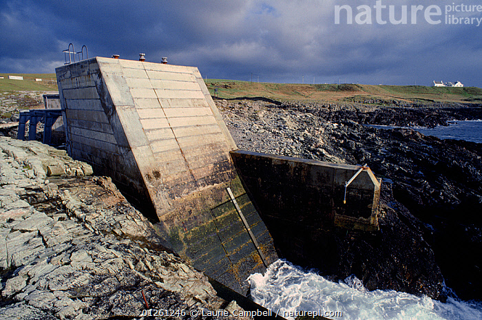 Tidal Power Station, Portnahaven, Islay, Scotland, October  ,  COASTS,ELECTRICITY,ENERGY,ENVIRONMENTAL,EUROPE,LANDSCAPES,RENEWABLE,SCOTLAND,SUSTAINABLE,UK, United Kingdom  ,  Laurie Campbell