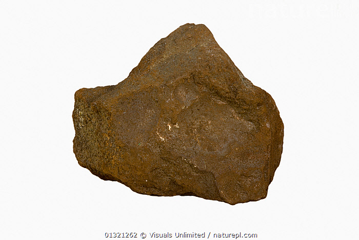 Domeykite, Michigan, USA  ,  BROWN,DOMEYKITE,GEOLOGY,MICHIGAN,MINERAL,MINERALS,OBJECT,ROCKS,ROUGH,SHOT,SINGLE,STUDIO,SURFACE,USA,WHITE,North America  ,  Visuals Unlimited