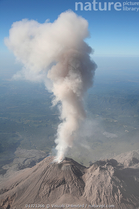 Lava dome complex and steam and ash eruption of the Santa Maria or Santiaguito Volcano, Guatemala, September 2009  ,  AERIAL,ASH,BLUE,CENTRAL AMERICA,COLOR,DOME,ERUPTION,GEOLOGY,GRAY,GUATEMALA,IGNEOUS,LANDSCAPES,LAVA,MARIA,OUTDOORS,ROCK,SANTA,SANTIAGUITO,SKY,STEAM,VERTICAL,VOLCANIC,VOLCANO,VOLCANOES,WHITE  ,  Visuals Unlimited