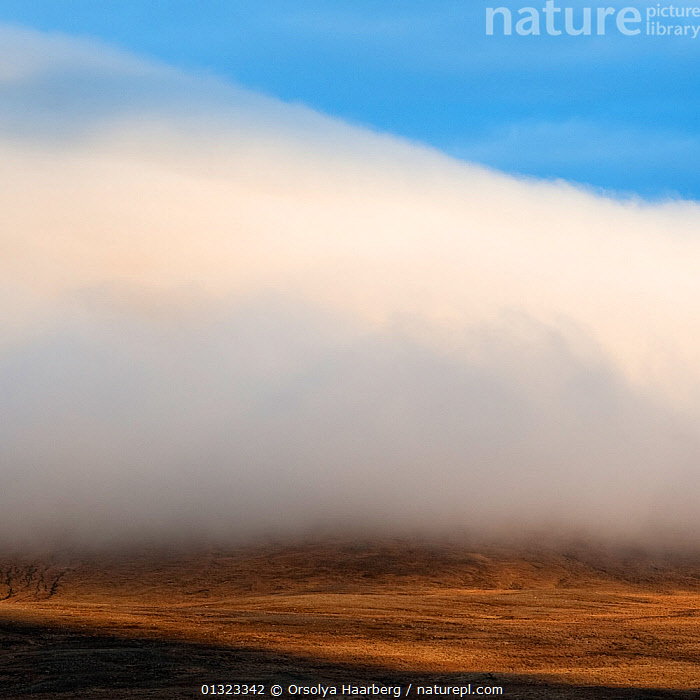 Clouds at sunset, near Varmahlid, Iceland, May 2010  ,  catalogue3,CLOUDS,copyspace,elevated view,EUROPE,ICELAND,LANDSCAPES,meteorology,nature,Nobody,outdoors,SCALE,SUNSET,Varmahlid,Weather  ,  Orsolya Haarberg