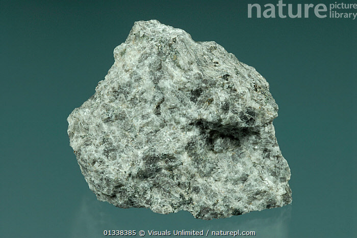 Anorthosite is a plutonic igneous rock consisting of 90 to 100 percent feldspars and minor amounts of quartz.  ,  ANORTHOSITE,BLUE,CLOSE,GEOLOGY,GRAY,IGNEOUS,OBJECT,PLUTONIC,ROCK,ROCKS,SHOT,SINGLE,STUDIO  ,  Visuals Unlimited