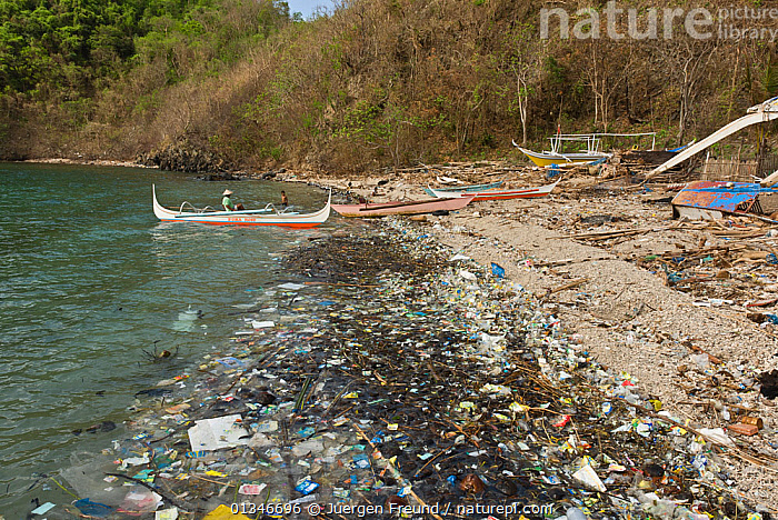 Coastal pollution, Philippines, May 2006  ,  BOATS,COASTS,coral triangle,ENVIRONMENTAL,INDO-PACIFIC,LANDSCAPES,PEOPLE,POLLUTION,REFUSE,rubbish,SOUTH-EAST-ASIA,WWF,PHILIPPINES,,Waste,Environment,Environmental Issues,Environmental Damage,Littering,Marine Pollution,  ,  Jurgen Freund